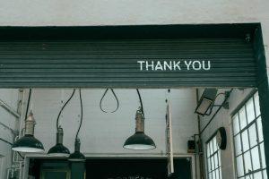 recunostinta pentru clienti si echipa